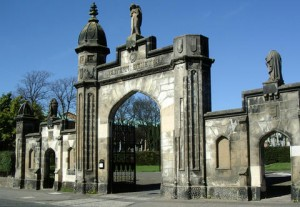 Perth Road Entrance to Western Cemetery